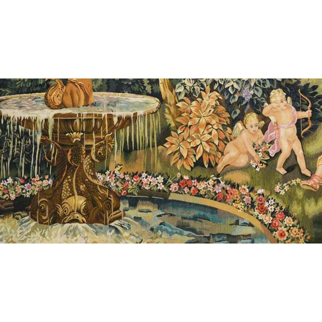 """2000 - 2009 Le Printemps From the Series """"Les Enfants Jardiniers"""" Tapestry For Sale - Image 5 of 6"""