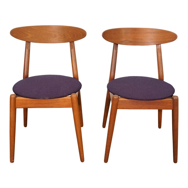 Vilhelm Wohlert Louisiana Chair - Set of 2 For Sale