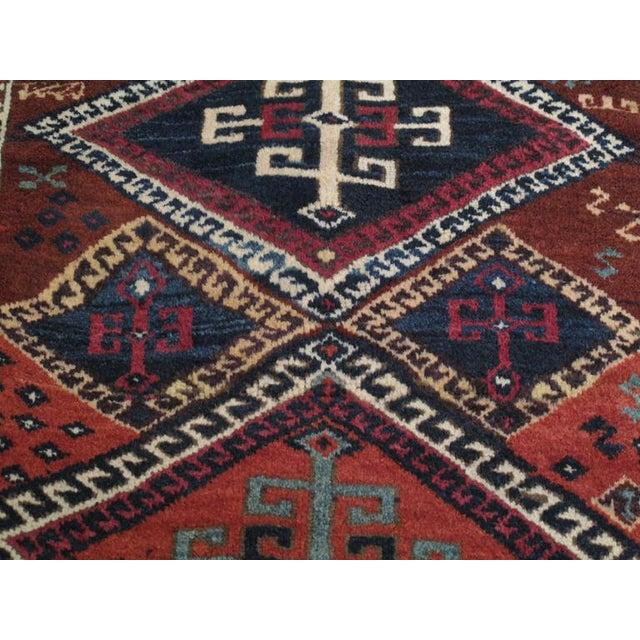 Textile Antique Kurdish Long Rug For Sale - Image 7 of 9