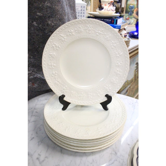 Vintage Wedgwood Dinner Plates - Set of 8 For Sale In New York - Image 6 of 6