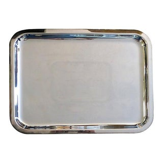 Christolfe Silver Plate Tray For Sale