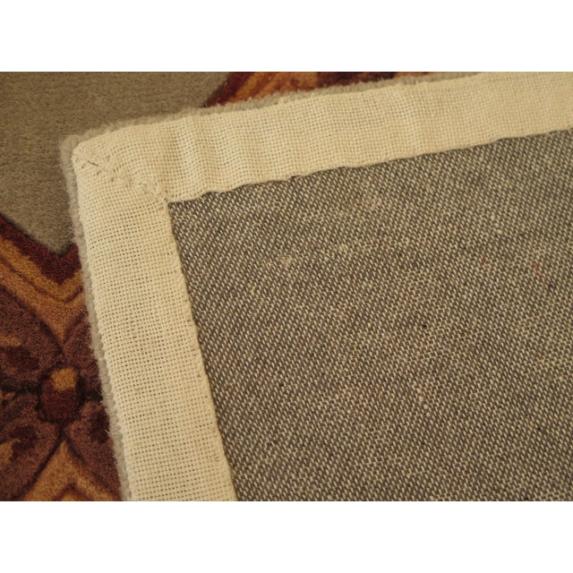 Regency Wool Rug - 9' X 13' For Sale - Image 10 of 13