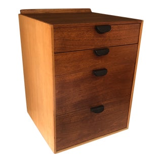 Finn Juhl for Baker Furniture Four Drawer Walnut Cabinet