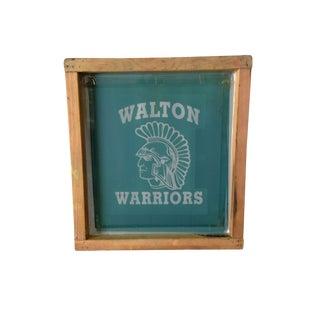 Warrior Silk Screen