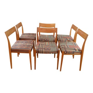 Troeds Bjarnum Swedish Modern Teak Dining Chairs - Set of 6 For Sale