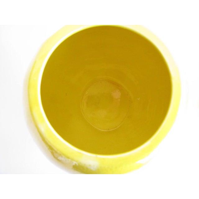 Vintage Lemon Shaped Ceramic Cookie Jar or Canister For Sale - Image 9 of 12