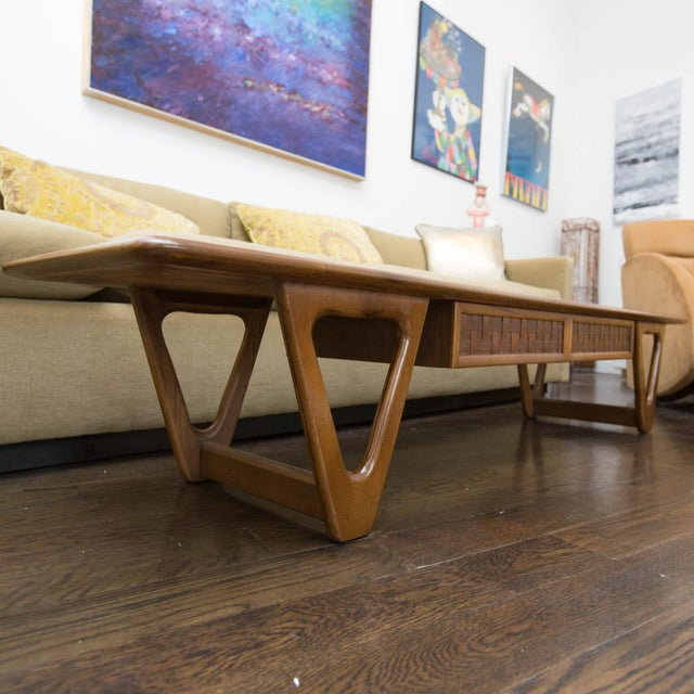 Lane Perception Coffee Table in Walnut - Image 8 of 11