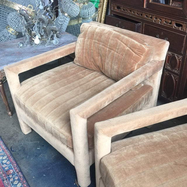 Henredon Upholstered Chairs - A Pair - Image 6 of 6
