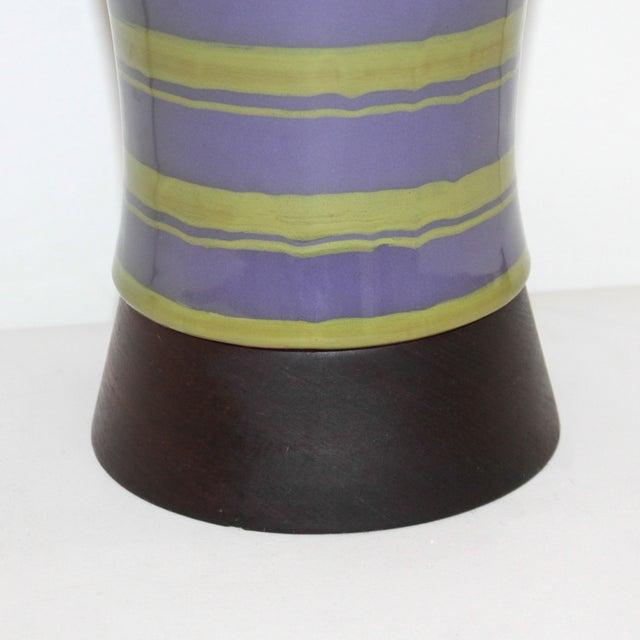 Mid-Century Modern Raymor Italian Pottery Lamp - Image 4 of 9