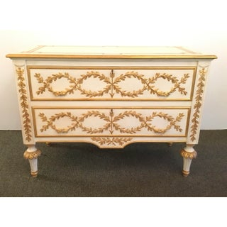 Neoclassical Style Fine Italian Hand-Carved Chest of Drawers Preview