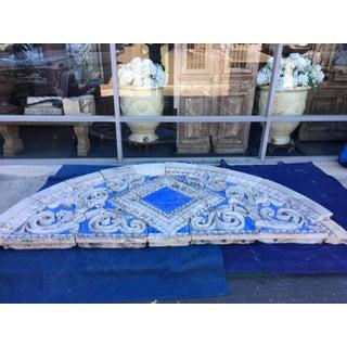 Art Deco Blue Stone Transom Preview