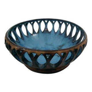 Signed Art Pottery Bowl