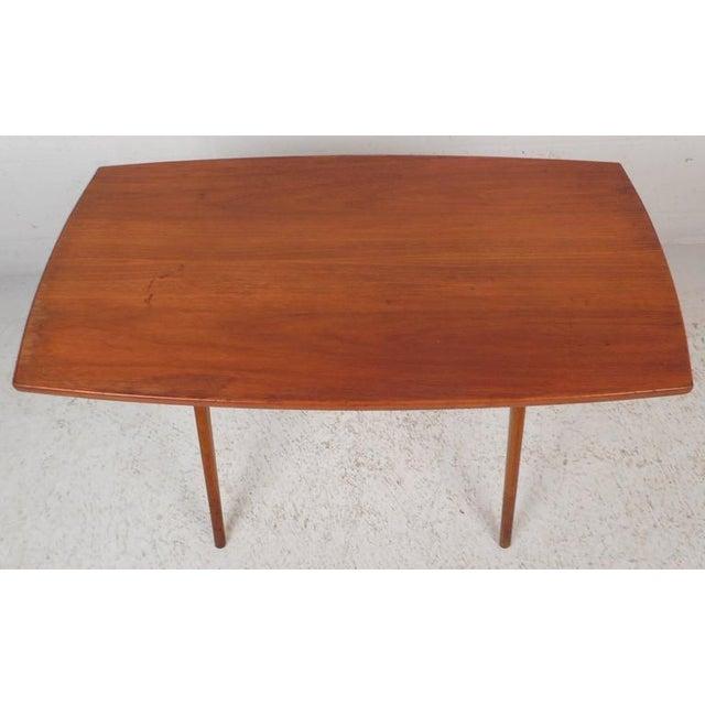 Mid-Century Modern Teak End Table - Image 10 of 11