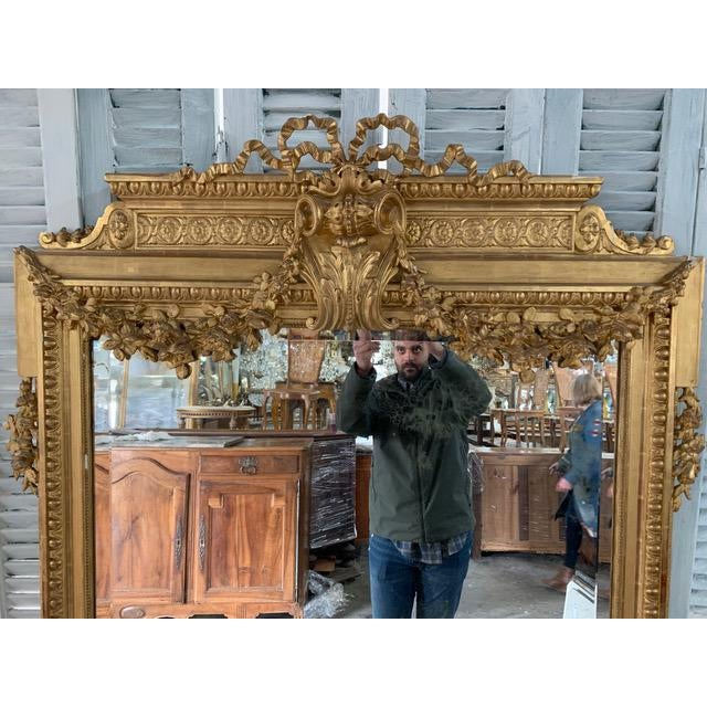 18th Century French Louis XVI Period Mirror For Sale - Image 4 of 10