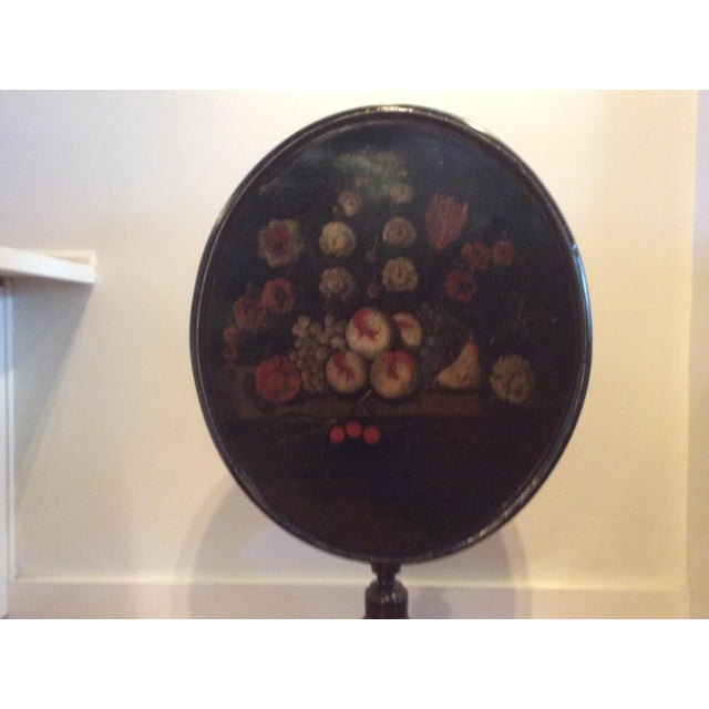 18th Century Dutch Tilt Top Table With Still Life - Image 3 of 11