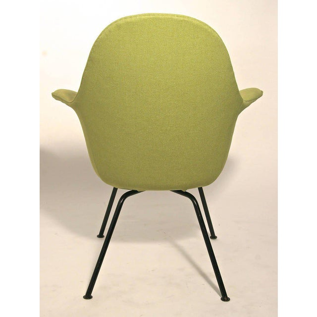 Hans Bellmann Pair of Mid-century Modern Chairs by Hans Bellman for Strassle, Switzerland 1954 For Sale - Image 4 of 6