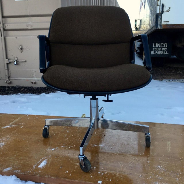 Mid-Century Modern Charles Pollock Style Desk Chair by All•Steel For Sale - Image 13 of 13