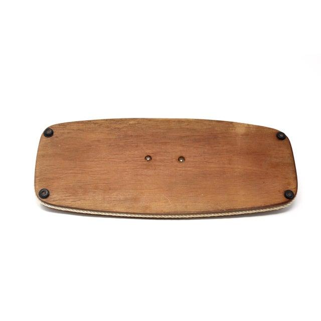 Wood Vintage Wood Nautical Dresser Valet For Sale - Image 7 of 11