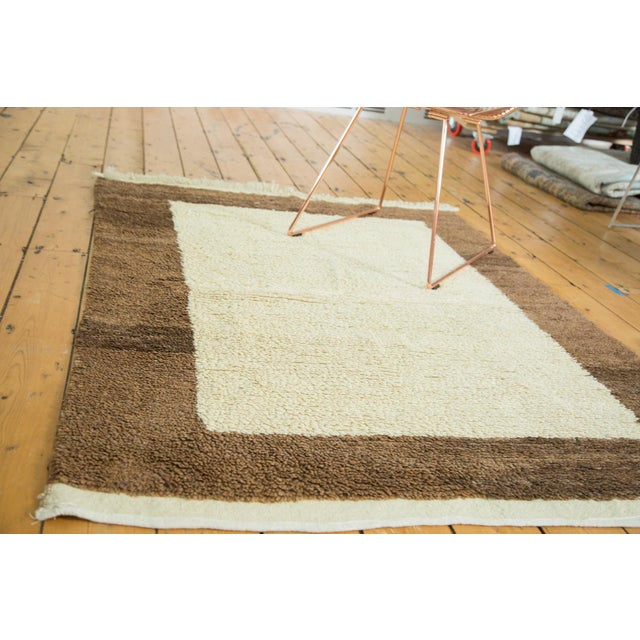 "Vintage Tulu Rug - 4'2"" X 5'5"" For Sale - Image 4 of 4"