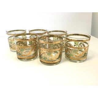 Hollywood Regency Culver Cocktail Glasses - Set of 6 Preview