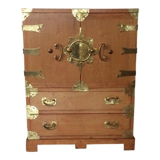 Asian Style Cabinet For Sale
