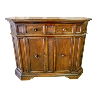 19th Century Tuscan Walnut Credenza For Sale