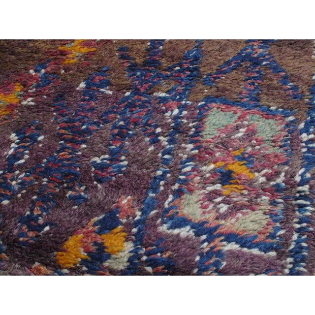 Textile Beni Mguild Moroccan Berber Rug For Sale - Image 7 of 10