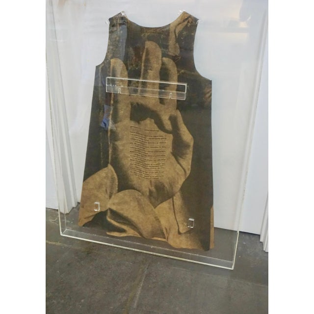 1960s Pop Art Paper Dress by Harry Gordon For Sale - Image 5 of 7