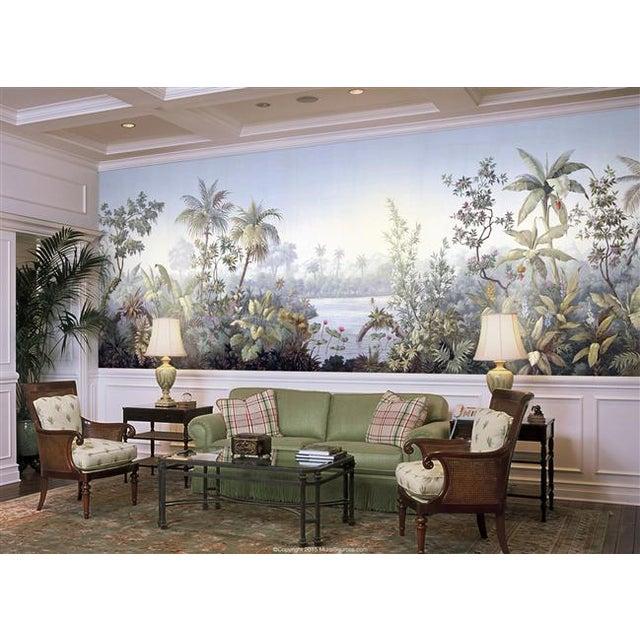 Casa Cosima Casa Cosima Classic Jacinda Wallpaper Mural - Sample For Sale - Image 4 of 6