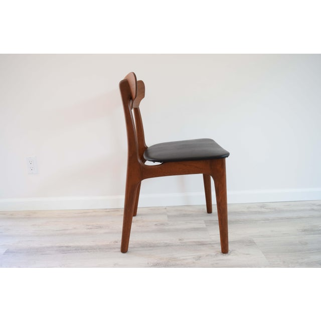 Brown Mid Century Modern Dining Chairs - Set of 4 For Sale - Image 8 of 13