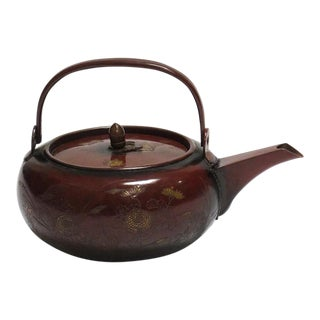 Japanese Cha Tea Pot For Sale