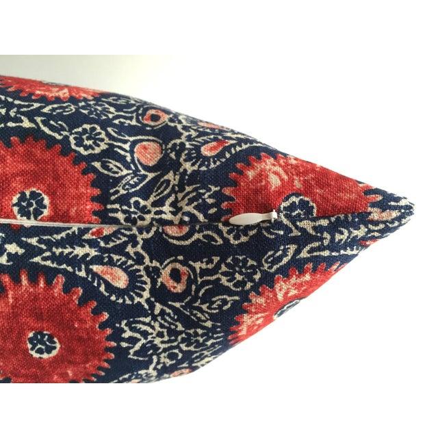 Indian Block Print Pillow - Image 4 of 6