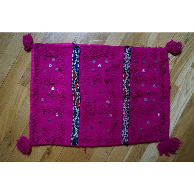 Moroccan Handmade Pillow - Image 2 of 4