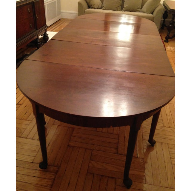 Traditional 1740 English Traditional Dining Table For Sale - Image 3 of 8