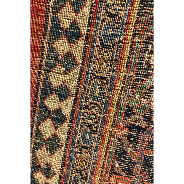 "Antique Persian Bijar Rug-7'6""x10'10"" For Sale In Los Angeles - Image 6 of 7"