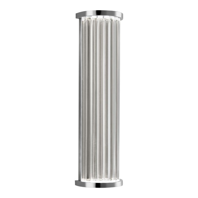 Mid-Century Modern Criterion Polished Chrome Wall Light For Sale - Image 3 of 5