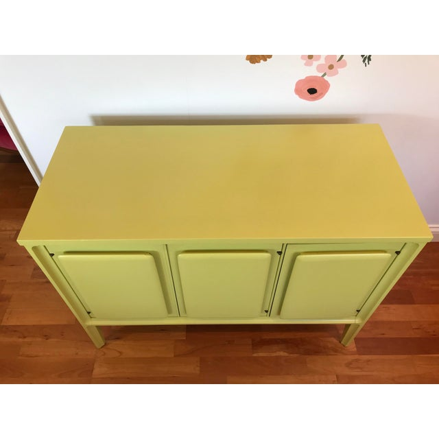 Pistachio 1960s Forward '70 by Broyhill Premier Walnut Server Credenza For Sale - Image 8 of 9