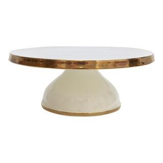 Midcentury Ceramic Cake Stand
