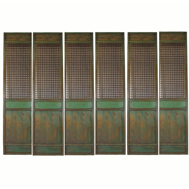 Measuring 28.5 in width and almost 10 feet tall each, this set of six lattice panels over 14 feet in width together can be...