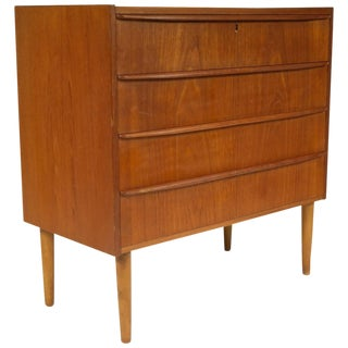 Modern Danish Chest of Drawers For Sale