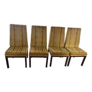 Mid-Century Modern Glenn of California Dining Room Chairs - Set of 4 For Sale