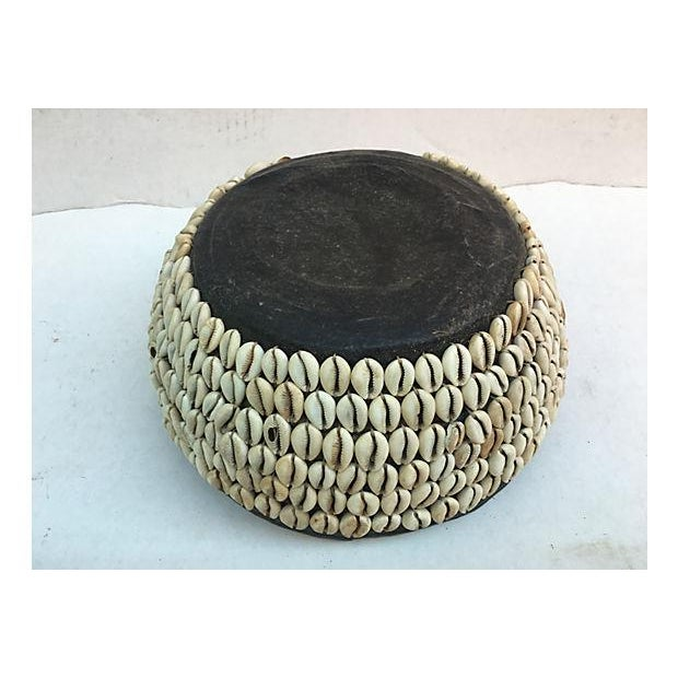 African Tribal Shell Basket For Sale In Los Angeles - Image 6 of 6