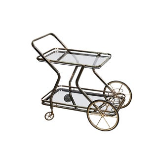 1960s Mid-Century Modern Bar Cart For Sale