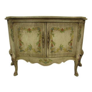 20th Century French Heritage Grand Tour Commode or Console Cabinet For Sale