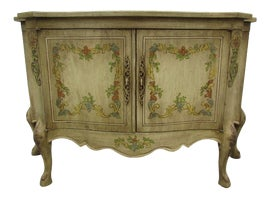 Image of Antique White Commodes