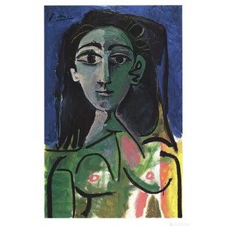 Pablo Picasso Buste De Femme (Jaqueline) Poster For Sale