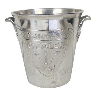 Vintage Geisler Champagne Bucket For Sale