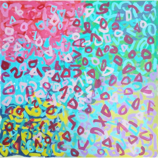 Susie Kate Original Abstract Painting - Image 1 of 2