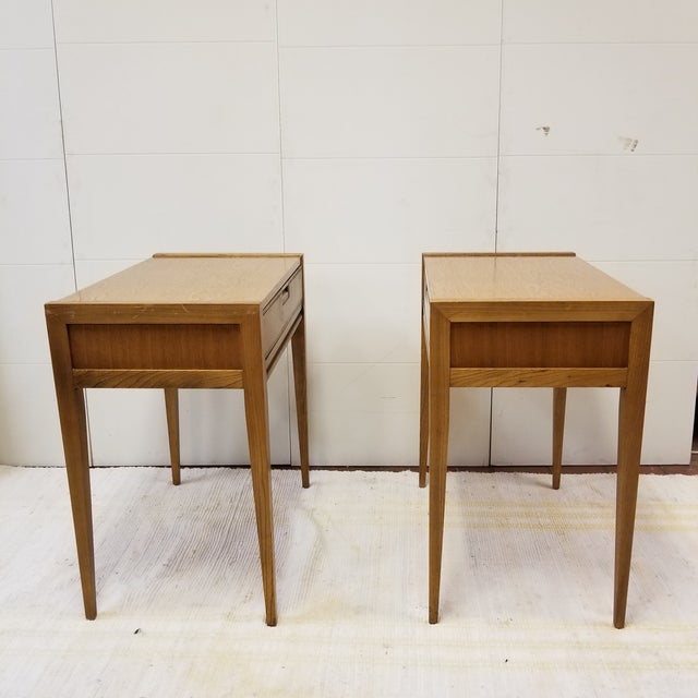 Mid-Century Modern Mid-Century Basic Witz Dressing Tables - A Pair For Sale - Image 3 of 7