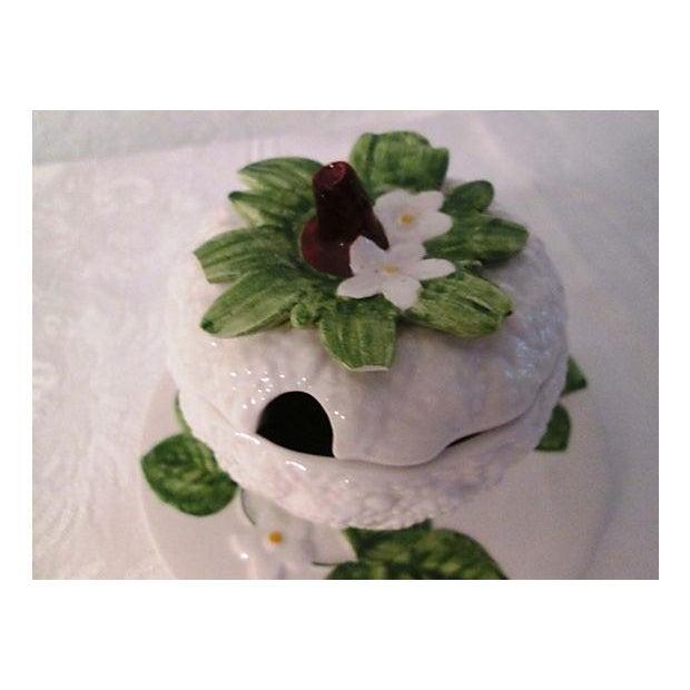 Cottage Italian Floral & Fruit Jam Jar For Sale - Image 3 of 6
